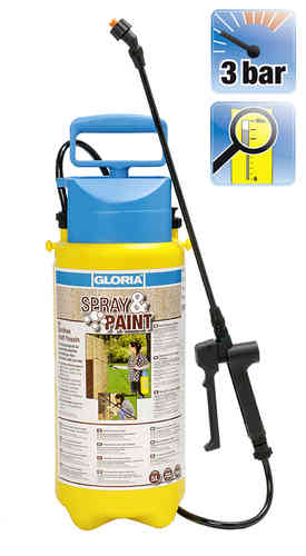 Gloria spray and paint